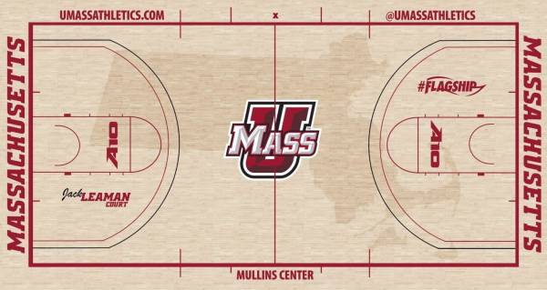 Jack Leaman Court, Fall 2019 redesign.